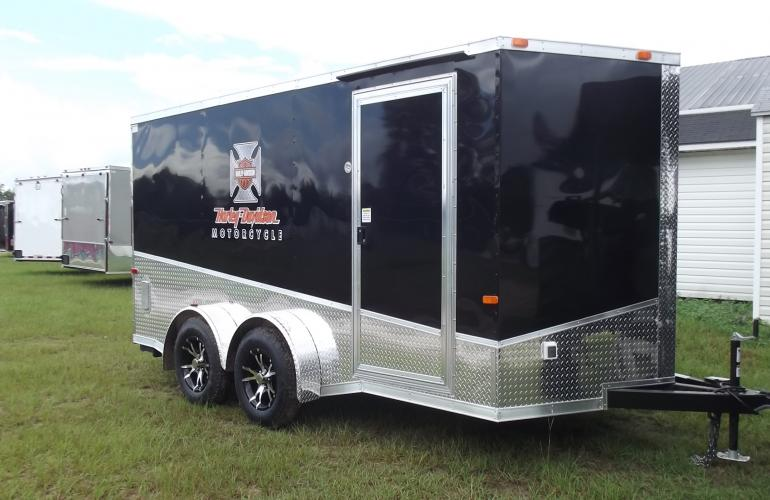 Harley Davidson Enclosed Motorcycle Trailer
