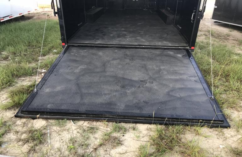 8 5 x 26 tandem axle race car trailer custom trailers for Tandem flooring