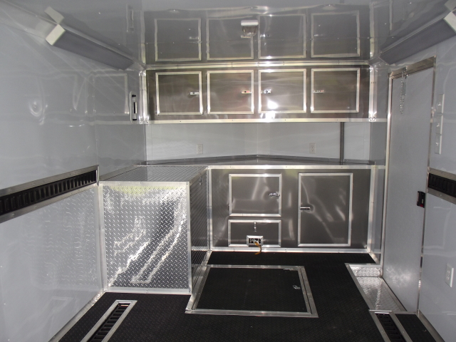 8 5x24 Race Car Trailer Enclosed Trailer Triple A